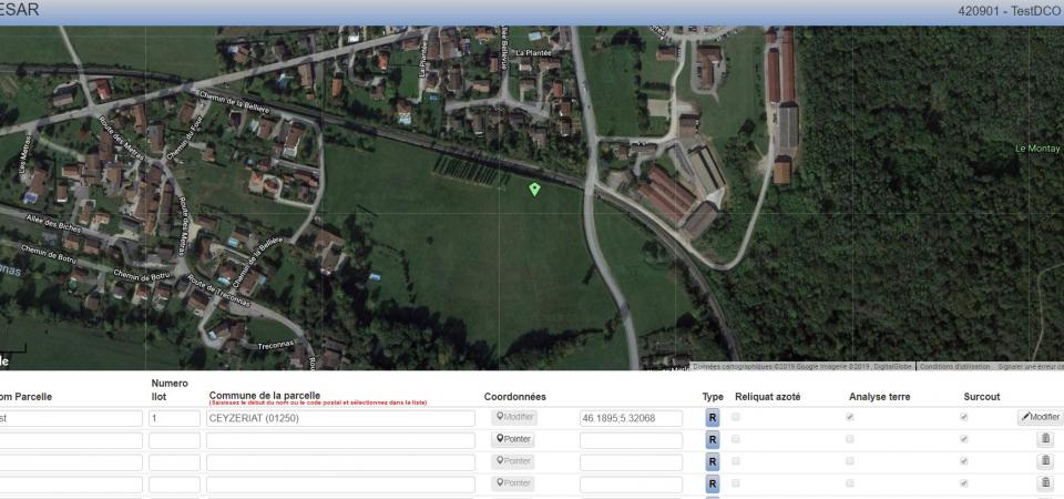 GEOCESAR, le logiciel qui optimise les prélèvements des parcelles agricoles.