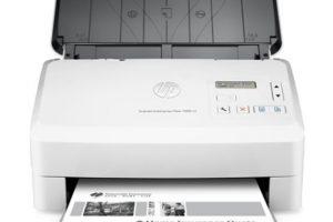 scanner feuille à feuille hp